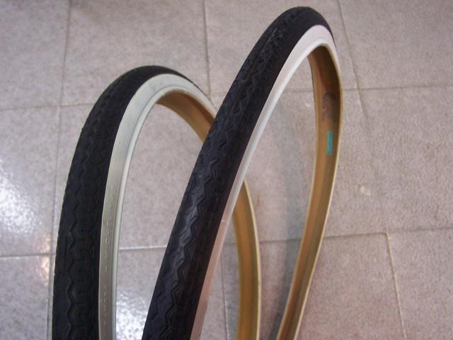 2 COPERTONI BIANCO NERO PER BICI BICICLETTA 28 X 1 5//8 3//8 700X35C 700 X 35 C