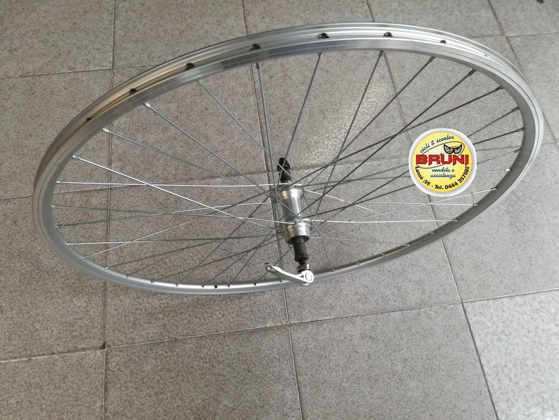 """Cerchio Ruote da Bicicletta 28/"""" ACCIAO FERRO CROMATO Bici SPORT RESTAURO 36f"""